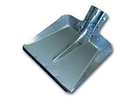 Лопата снеговая 360*370 стальная с планкой ЛС, арт.: а100