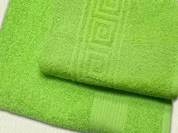 Полотенце махровое 30*60 зеленый гладкокрашеное 370гр/м2 эконом, арт.: в00297