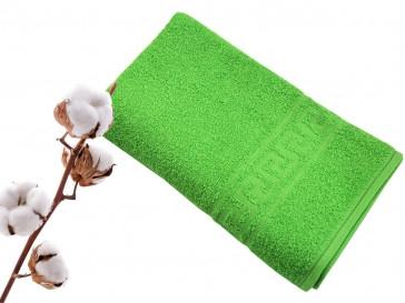 Полотенце махровое 50*90 зеленый гладкокрашеное 420гр/м2, арт.: в00304