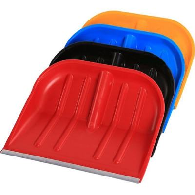 Лопата снеговая 480*400 цветная алюм.планка ХП, арт.: 197