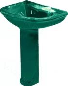 Раковина с пьедесталом ОК ПРЕСТИЖ-63 зелен, арт.: 26120
