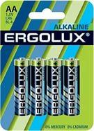 Батарейка алкалиновая Ergolux LR06 ALKALINE, арт.: а00022