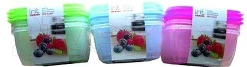 Набор пластиковых контейнеров IRH-026P, арт.: а00036