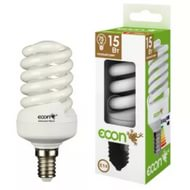 Лампа энергосберегающая ECON FSP 15Вт Е14 4200К А60, арт.: а00480