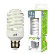 Лампа энергосберегающая ECON FSP 45 Вт Е27 4200К А60, арт.: а00492