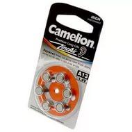 Батарейка Camelion ZA 13 BL-6 для слуховых аппарат, арт.: а00635