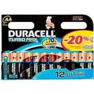 Батарейка DURACTLL LR6 12BL TURBO MAX (144), арт.: а00828