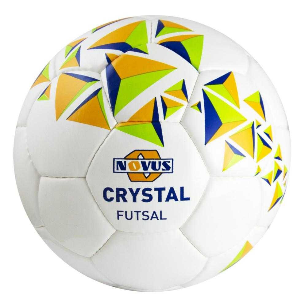 Мяч футбольный NOVUS CRISTAL FUTSAL PVC р.4, арт.: г00364