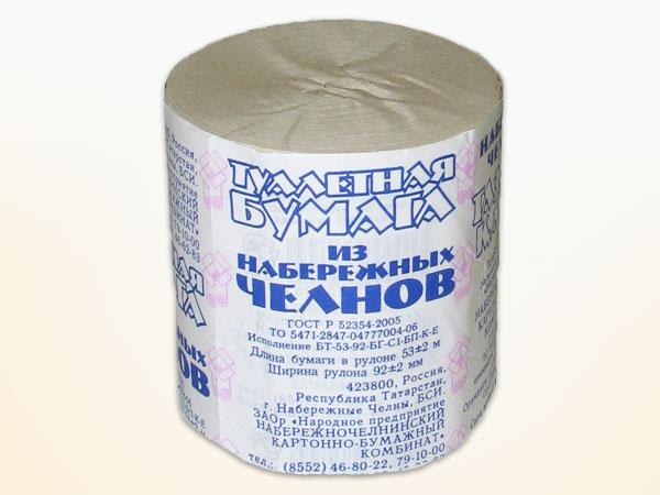 Бумага туалетная (Н.Челны), арт.: 9п1296